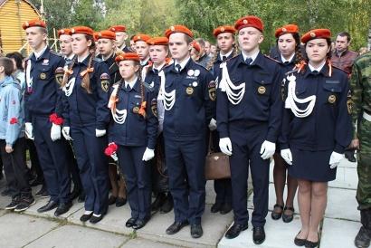 В митинге приняли участие кадеты архангельских школ ...