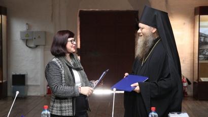На круглом столе было подписано соглашение о сотрудничестве между САФУ, Соловецким музеем-заповедником и Спасо-Преображенским монастырем
