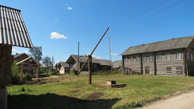 Ошевенский погост включена в число самых красивых деревень России