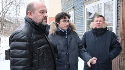 Игорь Орлов держит капремонт в доме архангелогородки Лидии Маркеловой под личным контролем
