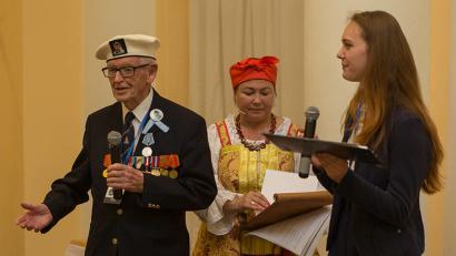 Участникам программы представилась уникальная возможность поделиться воспоминаниями и рассказать о событиях тех трудных лет