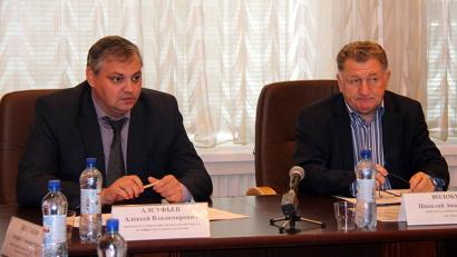 Совещание провели Алексей Алсуфьев и Николай Волобуев
