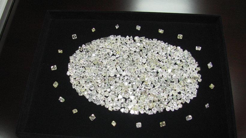 Более шести миллионов карат алмазов добыли в  Поморье за прошлый год