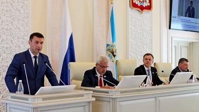 Николай Евменов: «Совместная работа с правительством региона и депутатами будет способствовать повышению делового потенциала региона»