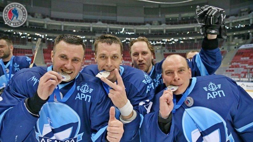 «Серебро» «Ледокола» стало лучшим результатом за всё время выступления представителей Архангельской области в Ночной хоккейной лиге