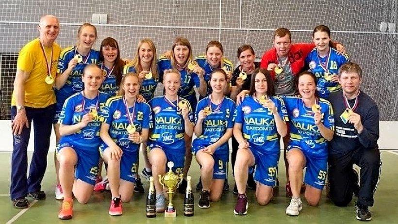 Команда «Наука-САФУ» – чемпионы России по флорболу