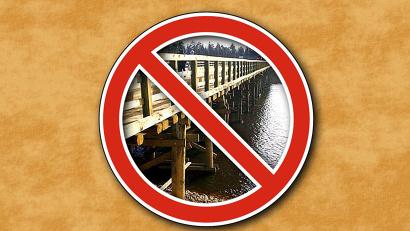 «Архангельскавтодор» сообщает о сроках разборки, а также ориентировочные сроки последующей сборки сезонных мостов