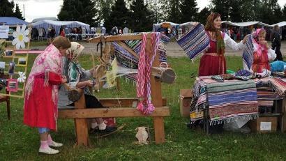 Съезд народных мастеров - один из брендов Пинежского района