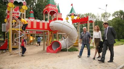 Новодвинский парк – шестой в области, где мероприятия по благоустройству в рамках выделенных на 2017 год средств уже завершены
