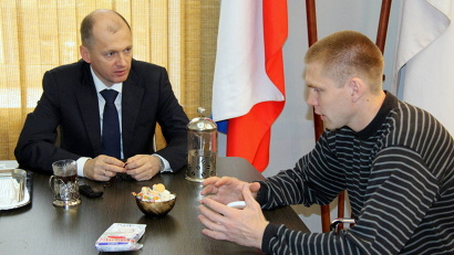 Тренер архангельских спортсменов Михаил Петров предложил обсудить возможность проведения сборов для наших атлетов на тренировочных базах Ингушетии