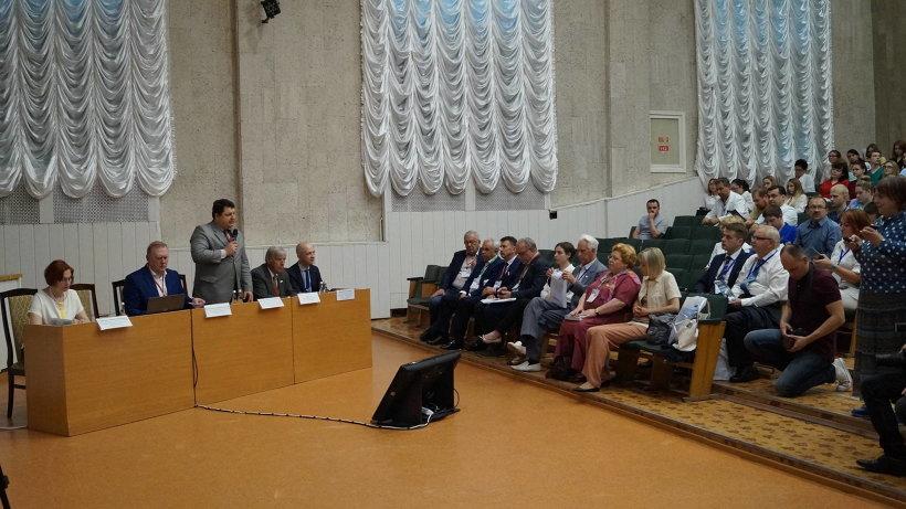 Открытие медицинской конференции в Архангельске