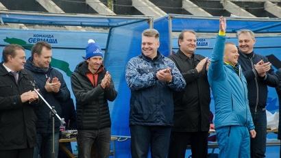 Региональный фестиваль стал продолжением фестиваля «Россия любит футбол», который накануне стартовал в Москве в олимпийском комплексе «Лужники»