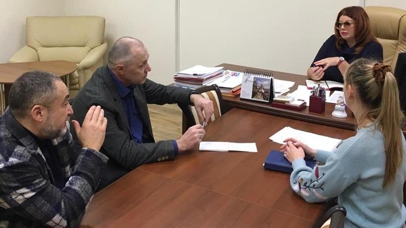 На приеме у министра культуры: Владислав Попов и Игорь Гуревич
