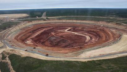 Добыча алмазов на месторождении имени В. Гриба в прошлом году составила 3 млн 426 тыс. карат