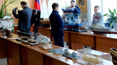 Модели участников традиционно будут выставлены в Арктическом морском институте имени В.И. Воронина