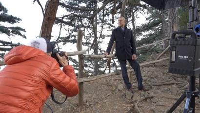 В этом году фотопроект «Герои России» впервые вышел за пределы студийного формата