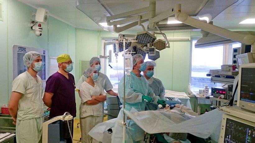 Лапароскопическую резекцию почки выполняет доктор медицинских наук Сергей Ракул
