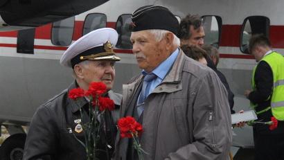Ветераны школы юнг прибыли на Соловки