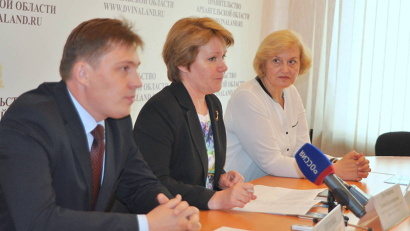 Елена Молчанова: «Ломоносовский набор направлен на то, чтобы талантливые и успешные молодые люди оставались учиться и работать в Поморье»