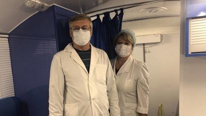 Медицинские работники Приморской ЦРБ