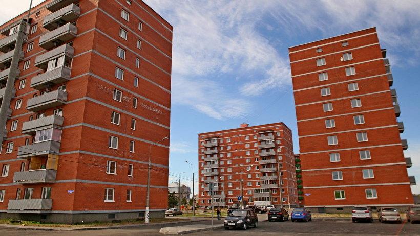 Дома, построенные в Архангельске для расселения аварийного жилья