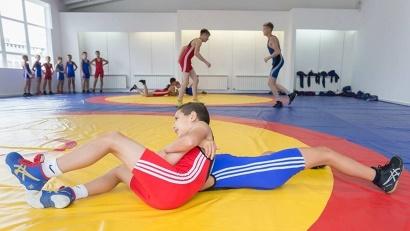 В новом комплексе – три зала: для греко-римской и вольной борьбы, а также для художественной гимнастики