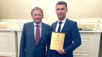 Николай Евменов занимает должность регионального бизнес-уполномоченного с 2013 года