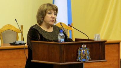 Валентина Рудкина: «Мы поддержали этот закон, и просим поддержать его на областном уровне»