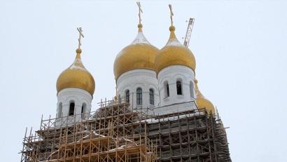Михаило-Архангельский кафедральный собор сможет вместить до трёх тысяч прихожан