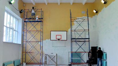 В этом году было отремонтировано 78 школьных спортивных залов