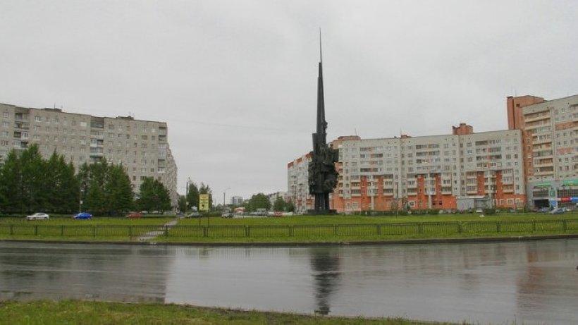 Участок, где произведен ремонт в рамках БКАД в Северодвинске, включал круговую развязку на площади имени Давида Пашаева