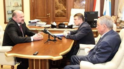 Игорь Орлов: «Сегодня представители всех политических партий должны объединиться для работы на благо жителей региона»
