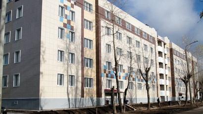На улице Лесной, 20 переселенцев ждут 44 квартиры. Фото пресс-службы администрации Северодвинска