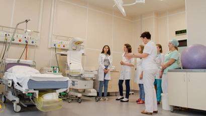 В центре физической реабилитации в седьмой городской больнице