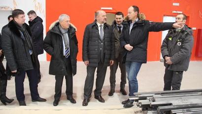 Игорь Орлов посетил новый спортивный центр развития пляжных видов спорта