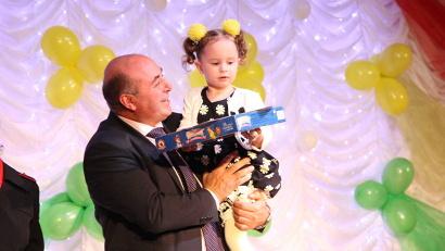 120 детей были отмечены дипломами и призами