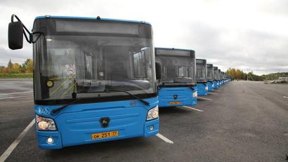 Новые автобусы марки ЛиАЗ пополнят автопарк областного центра