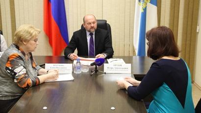 Игорь Орлов: «Региональная власть не остаётся в стороне от решения насущных проблем жителей Архангельска»
