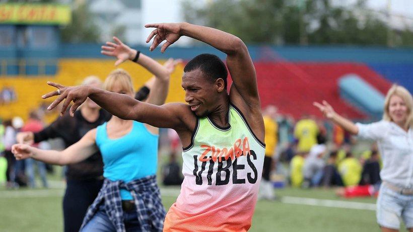Большим успехом на «Труде» пользовался мастер-класс по танцам