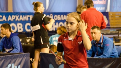 Первенство России по настольному теннису проходит в Архангельске с 19 по 24 апреля