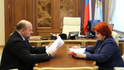 Игорь Орлов и Любовь Анисимова обсудили актуальные проблемы защиты прав северян
