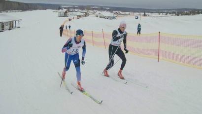 Спортсмены отметили: трассы в «Малиновке» подготовлены отлично. Фото газеты «Устьянский край»
