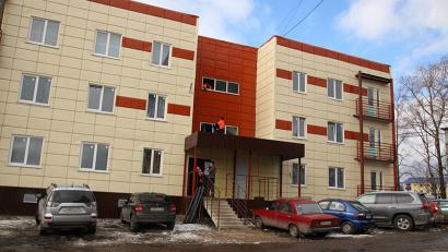 Первый дом на улице Советской уже заселён