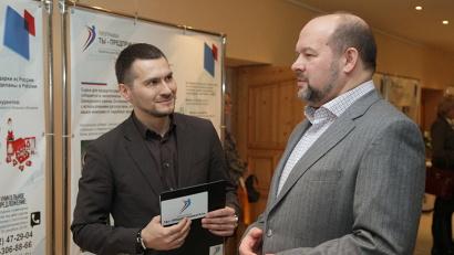 Руководитель федеральной программы в Архангельской области Артём Вахрушев рассказал губернатору об успехах молодых предпринимателей региона в 2014 году