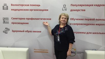 Татьяна Кудряшова – лидер по организации работы с волонтерами-медиками в Вельском районе
