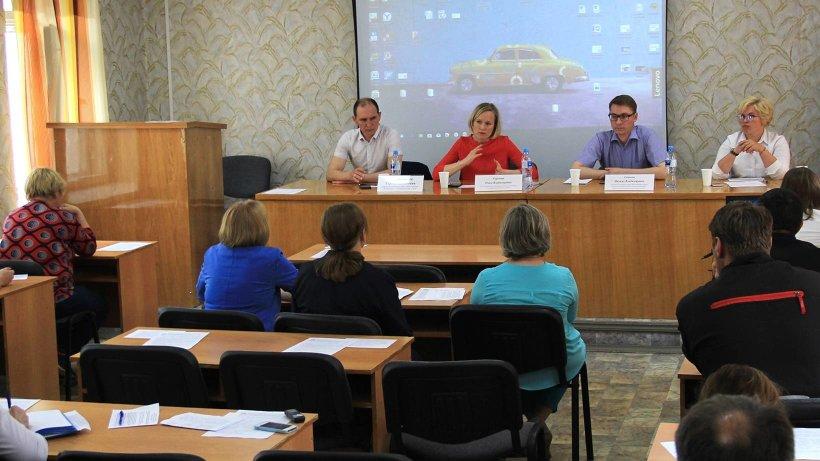 Ольга Горелова провела встречу с бизнес-сообществом Устьянского района