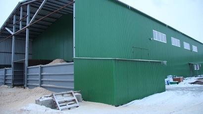 Новая котельная в Холмогорах работает на биотопливе