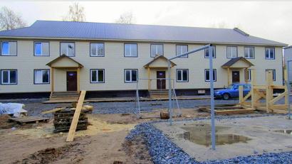 Дом на улице Козлова, 13 готов к сдаче. Фото газеты «Онега»