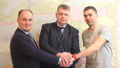 Евгений Дергаев подписал новый контракт с  «Водником» на два года