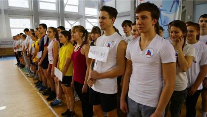 В состязаниях приняли участие команды десятиклассников, прошедшие сито муниципальных этапов